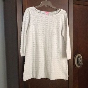 Lilly Pulitzer cover-up. Perfect condition. XL